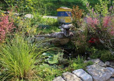 Création d'une pièce d'eau artificielle à St Genix-les-Villages, Savoie