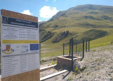 Réalisation d'un assainissement naturel et écologique d'un refuge d'alpage
