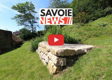 SAVOIENEWS : Présentation d'un système de phyto-épuration à Sainte-Marie-D'Alvey